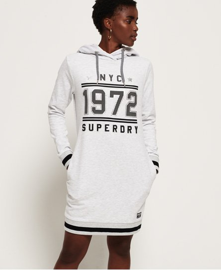 Superdry Tokyo Hooded Sweat Dress