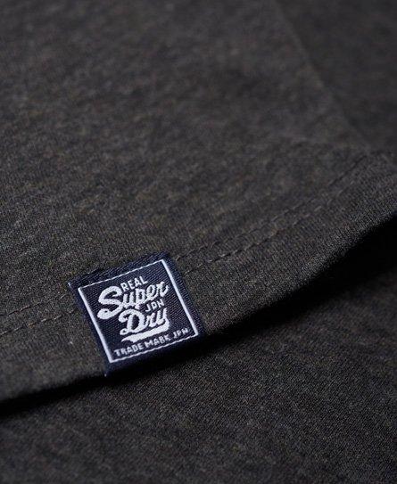 Superdry Schmal geschnittenes Premium Boyfriend-T-Shirt mit Paillettenbes