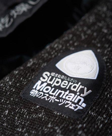 Superdry Storm Hybrid Metallic Zip Hoodie