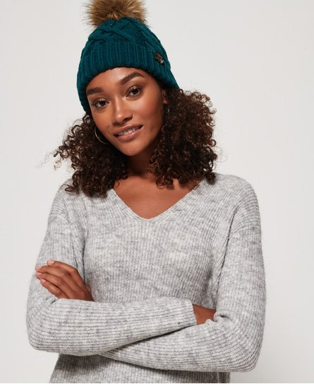 Superdry Arizona kabelbeanie