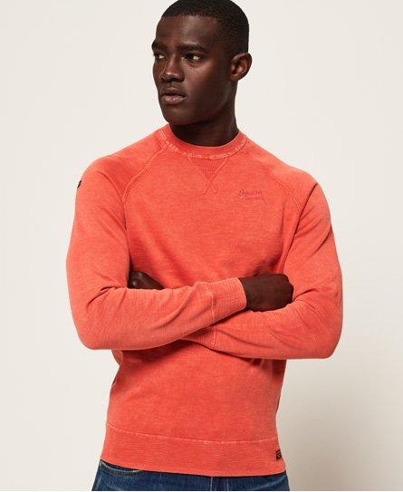 Maglione girocollo Garment Dye L.A.