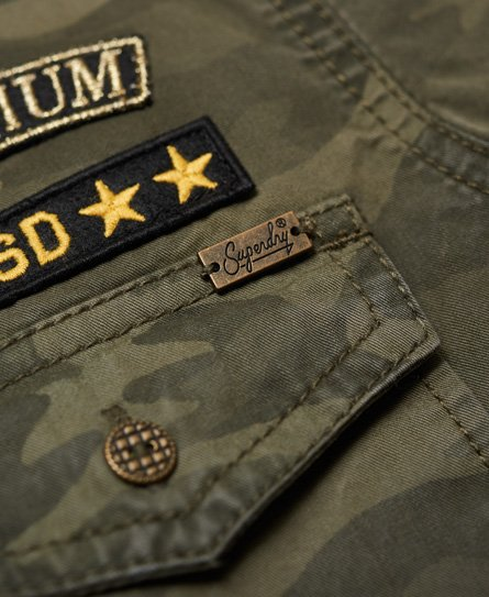 Superdry Reina Twill Military Shirt