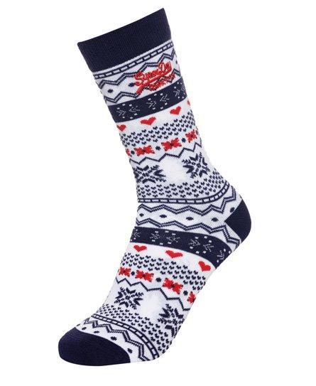 Superdry Lot de trois paires de chaussettes fantaisie Xmas