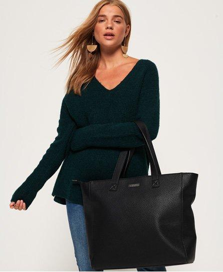 Superdry Elaina Star Perforated Tote Bag