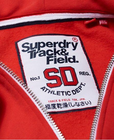 Superdry Track & Field Kapuzenjacke mit Reißverschluss