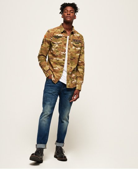 Superdry Miltary Storm Shirt
