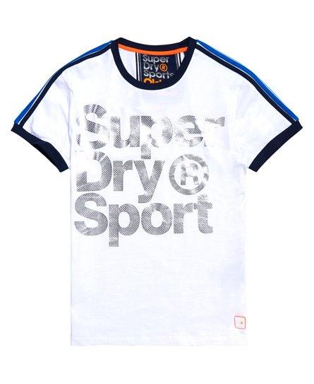Superdry Classics Tokyo Foil Ringer T-shirt