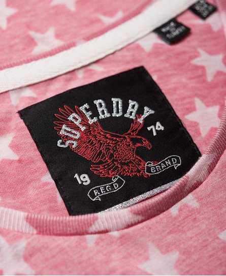 Superdry Burn Out Star T-Shirt