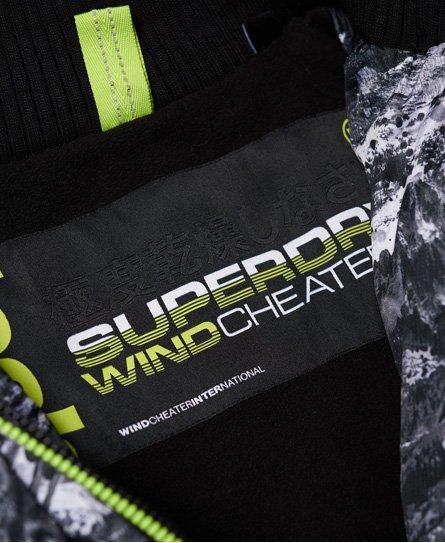 Superdry Arctic Hooded Print Pop Zip SD-Windcheater
