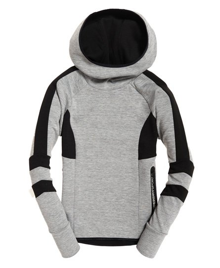 Superdry Core Gym Tech Funnel Hoodie