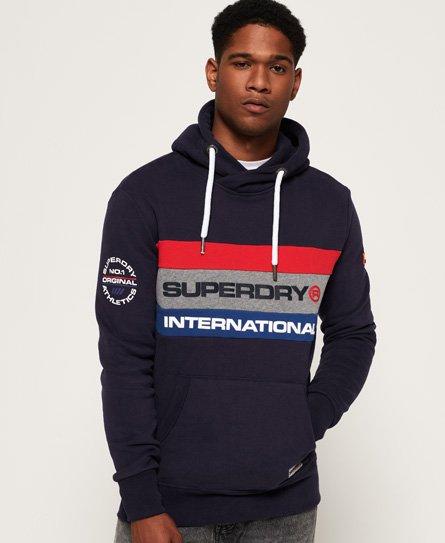 Superdry Trophy Tri Colour Hoodie