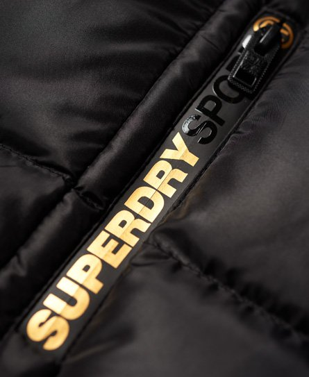 Superdry Gym Tech Gold Steppjacke