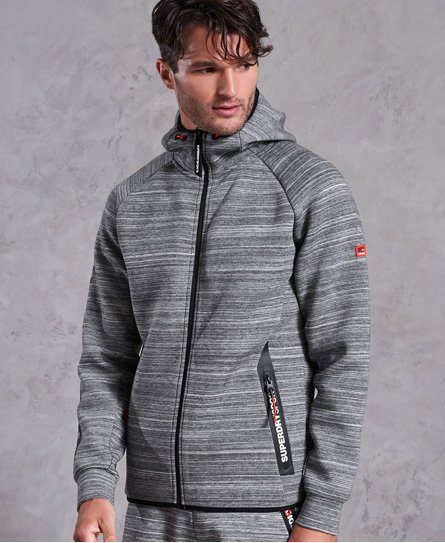 Felpa con zip e cappuccio Gym Tech Stretch