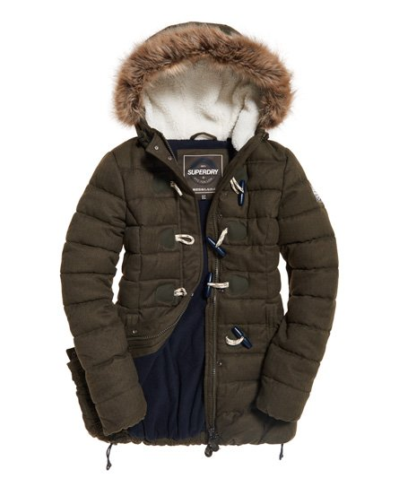 Superdry Tall Marl Toggle Puffle Jacket