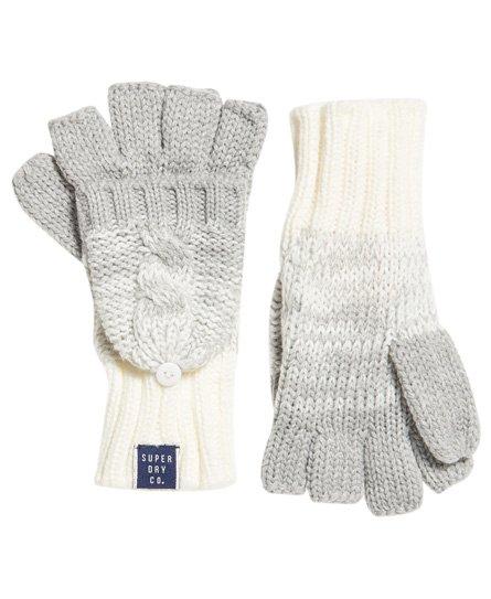 Clarrie handschoenen met kabelpatroon