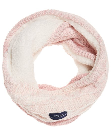 Superdry Clarrie Cable Knit Snood
