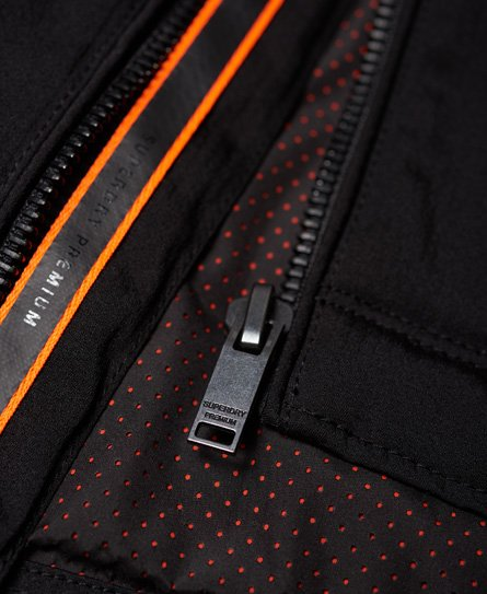 Superdry Premium Houndstooth Harrington Jacket