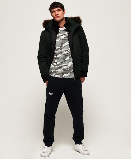 Superdry Microfibre SD-Wind Bomber Jacket