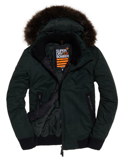 Superdry Giubbotto bomber in microfibra SD-Wind