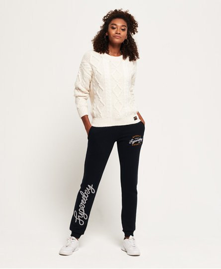 Aria Applique Slim Joggers