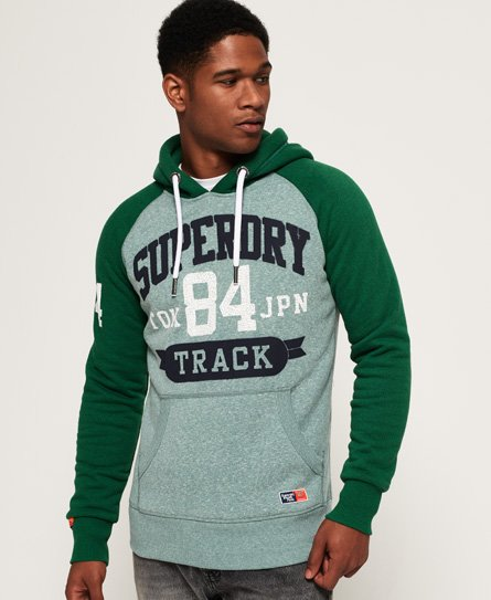 Superdry Track & Field Raglan Hoodie