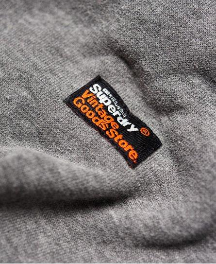 Superdry Vintage Logo Panel Zip Hoodie