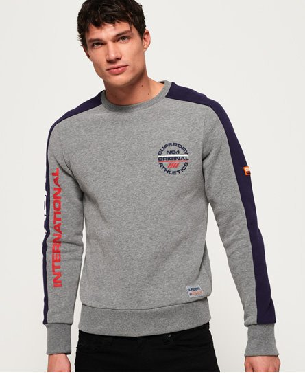 Superdry Sweat tricolore Trophy