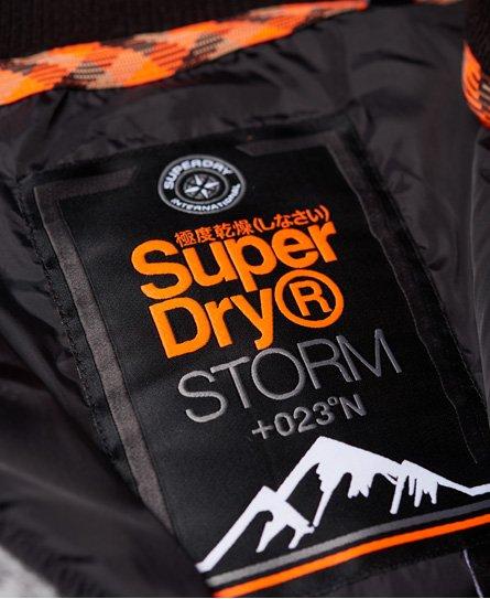 Superdry Storm Ombre Hybrid Zip Hoodie