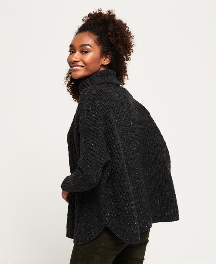 Superdry Pull Pia Nep Cable Cape