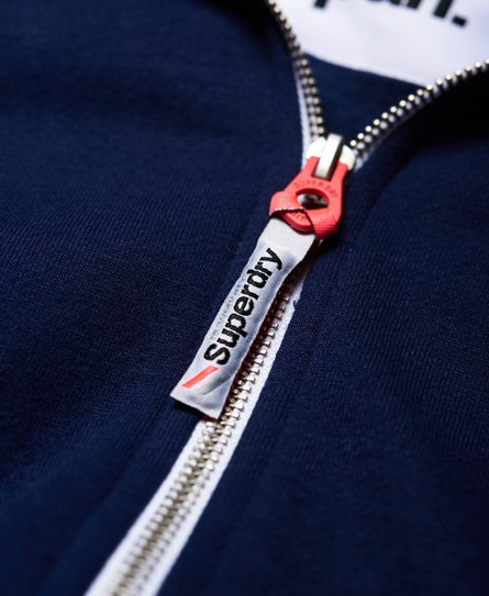 Superdry Felpa con cappuccio e zip LA Athletic