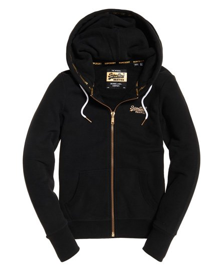 Superdry Felpa con zip e cappuccio Orange Label Elite