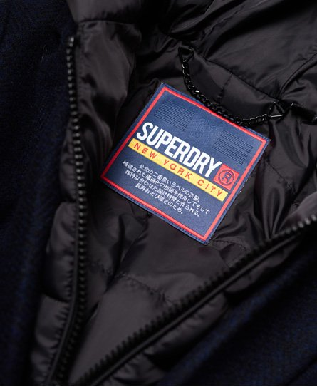 Superdry Manteau en laine technique Fjola