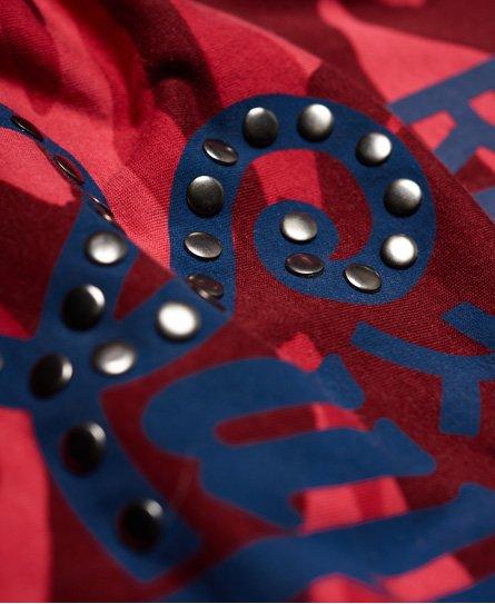Superdry Kastenförmiges Keep It Rhinestone T-Shirt