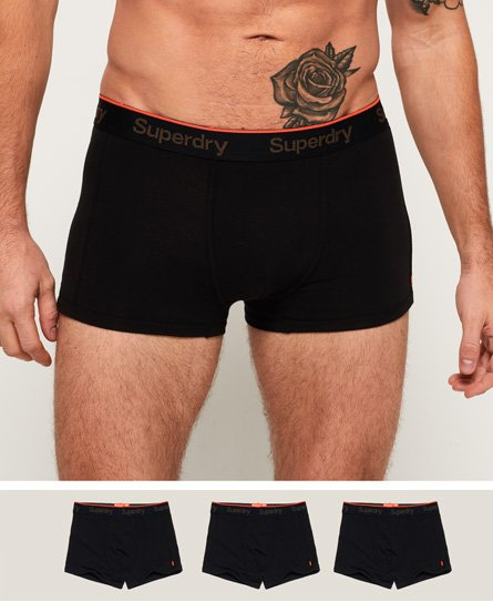 Superdry Orange Label Sport Trunks Triple Pack