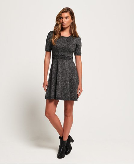 Superdry Riley Fit & Flare Strickkleid