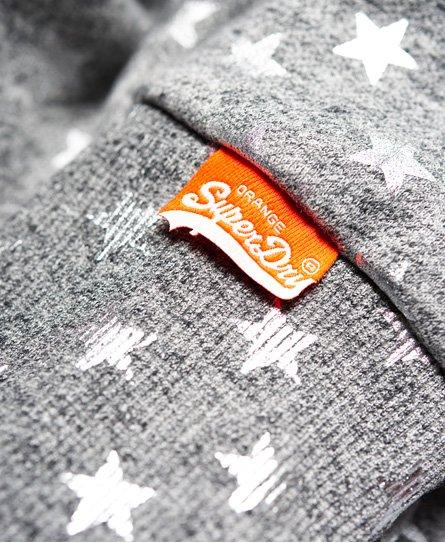 Superdry Orange Label All Over Print Hoodie