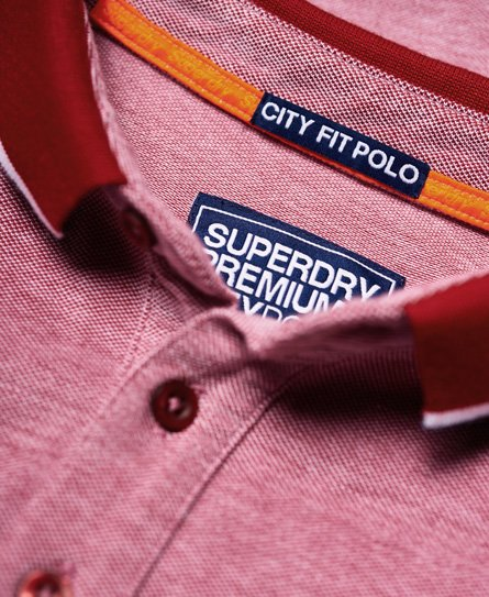 Superdry City Oxford Pique Polo Shirt