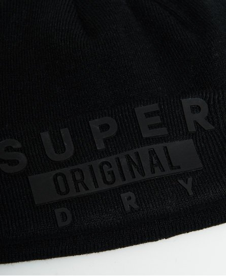 Superdry Bonnet à logo « Super »