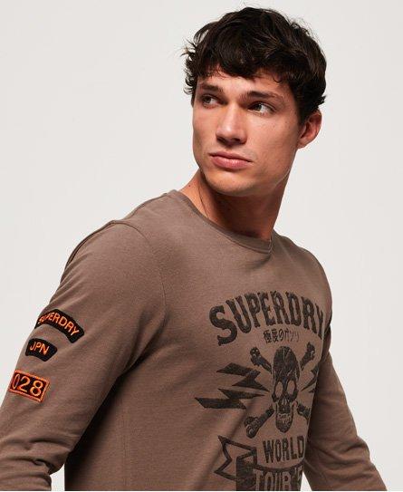 Superdry World Tour Long Sleeve T-Shirt