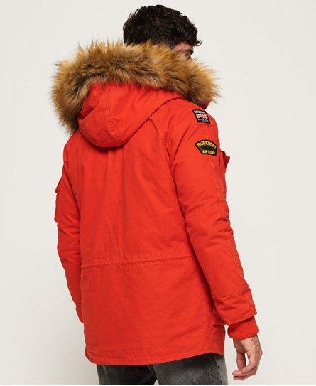 Superdry Parka Rescue Rookie Heavy Jacket In Mens Weather Orange xwnz7HR8