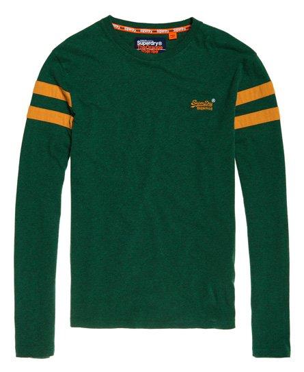 Superdry Orange Label Softball Ringer T-Shirt