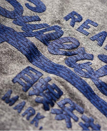 Superdry Vintage Logo Panel Stripe Long Sleeve T-Shirt