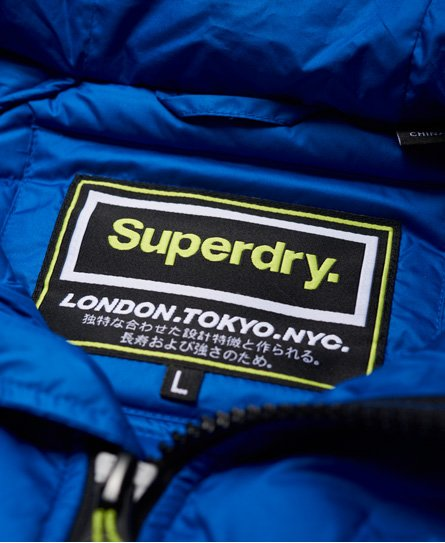 Superdry Down Radar Mix Quilted Jacket