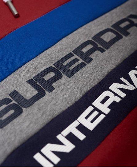 Superdry Dreifarbiges Trophy Hoodie
