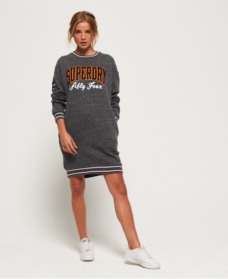 Superdry Tori Collegiate-joggekjole