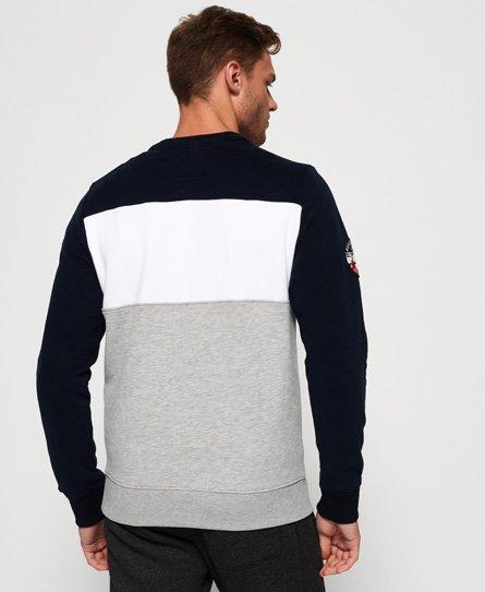 Superdry Academy Colour Block sweatshirt