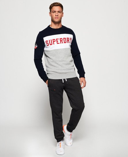 Superdry Sweat à blocs de couleur Academy