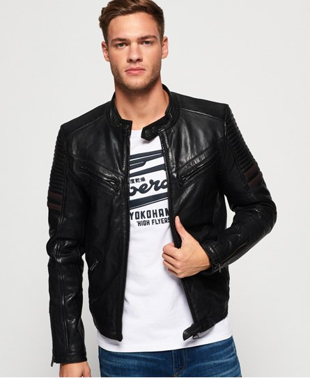 SD Endurance Indy Circuit Leather Jacket93543