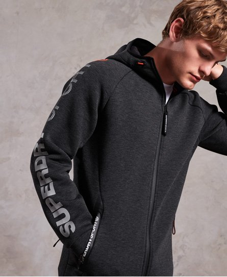 Superdry Gym Tech Stretch Zip Hoodie