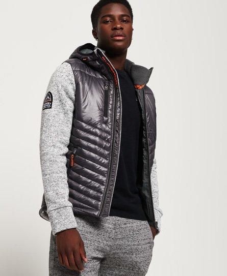 Superdry Storm Hybrid hoodie met rits